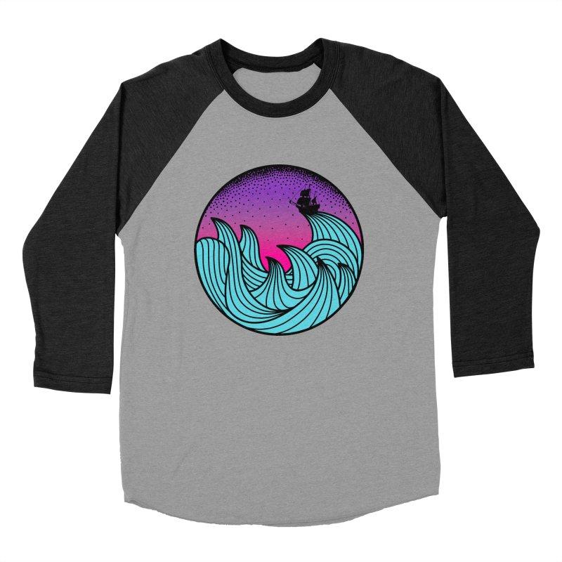 Los At Sea Full Color Women's Baseball Triblend T-Shirt by MackStudios's Artist Shop