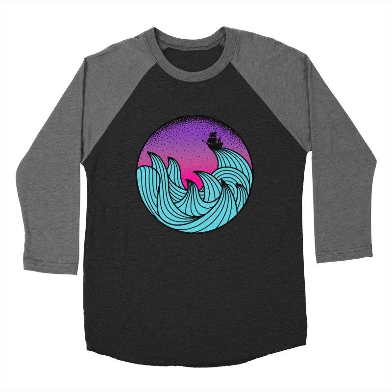 Los At Sea Full Color Men's Baseball Triblend Longsleeve T-Shirt by MackStudios's Artist Shop