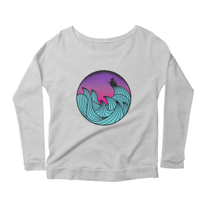 Los At Sea Full Color Women's Scoop Neck Longsleeve T-Shirt by MackStudios's Artist Shop