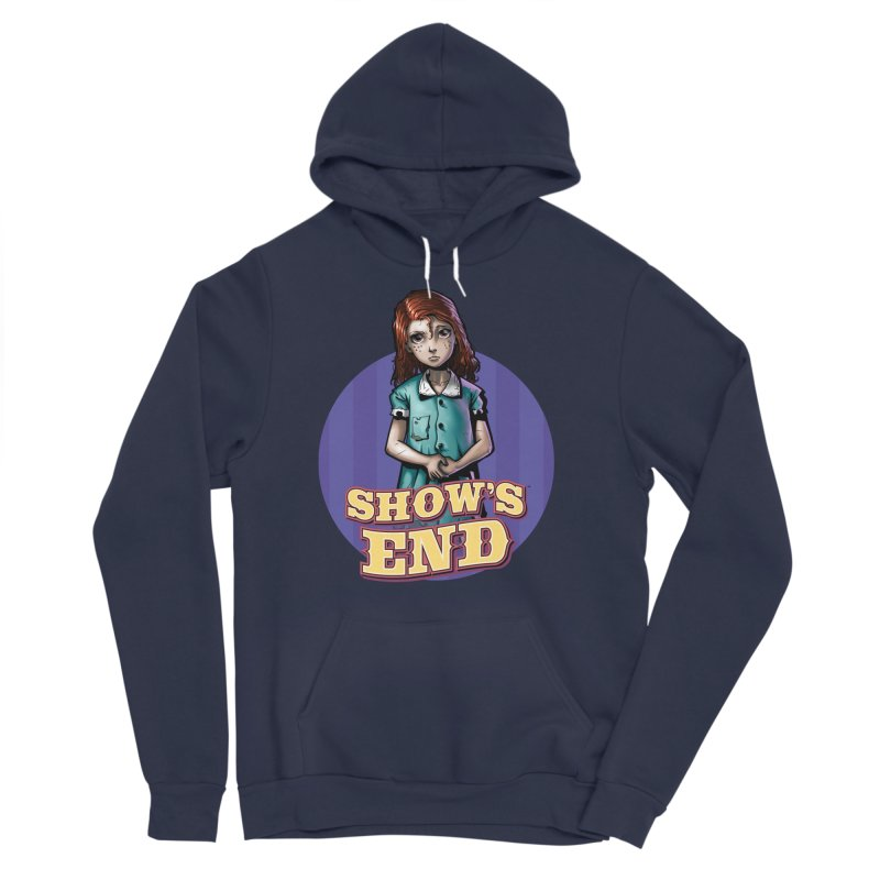Show's End: Loralye Men's Sponge Fleece Pullover Hoody by Mad Cave Studios's Artist Shop