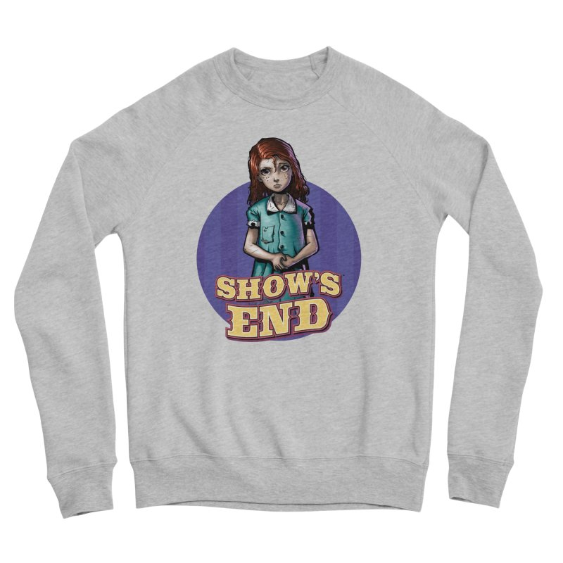 Show's End: Loralye Women's Sponge Fleece Sweatshirt by Mad Cave Studios's Artist Shop