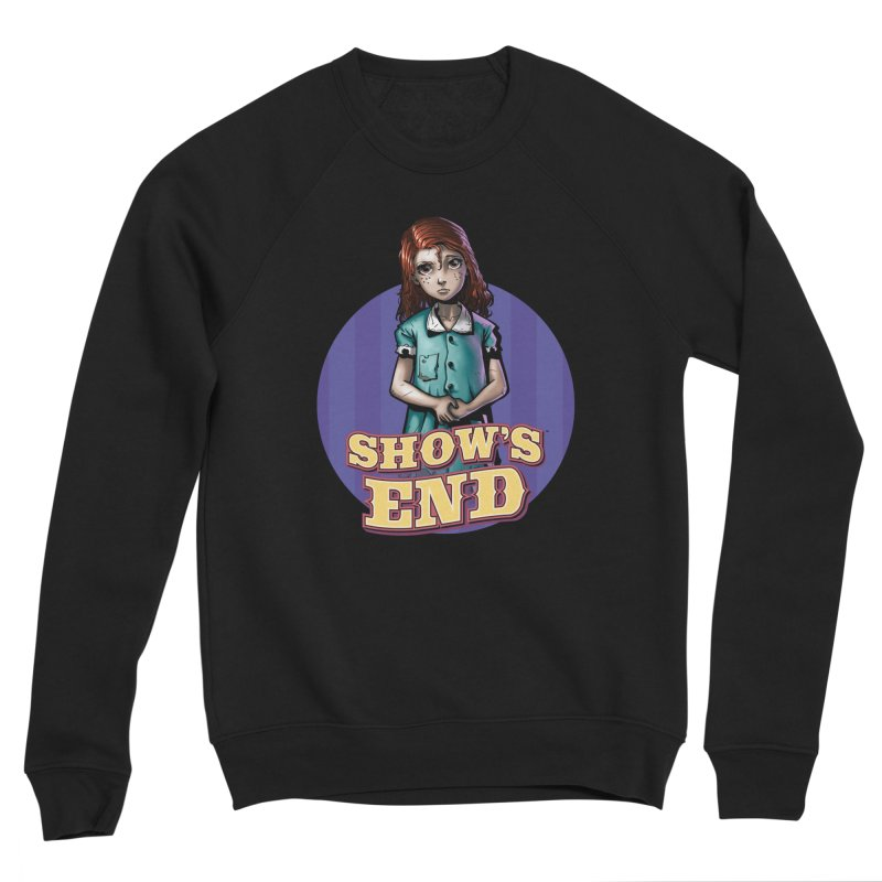 Show's End: Loralye Men's Sponge Fleece Sweatshirt by Mad Cave Studios's Artist Shop