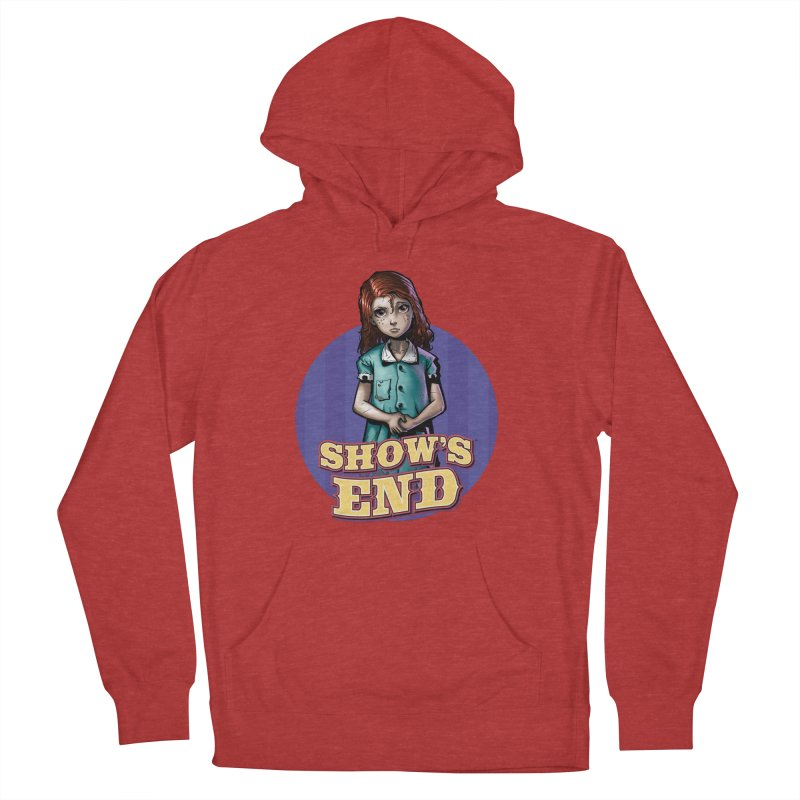 Show's End: Loralye Women's French Terry Pullover Hoody by Mad Cave Studios's Artist Shop