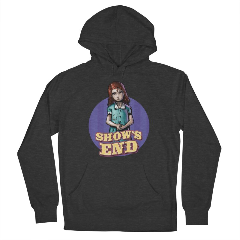 Show's End: Loralye Men's French Terry Pullover Hoody by Mad Cave Studios's Artist Shop