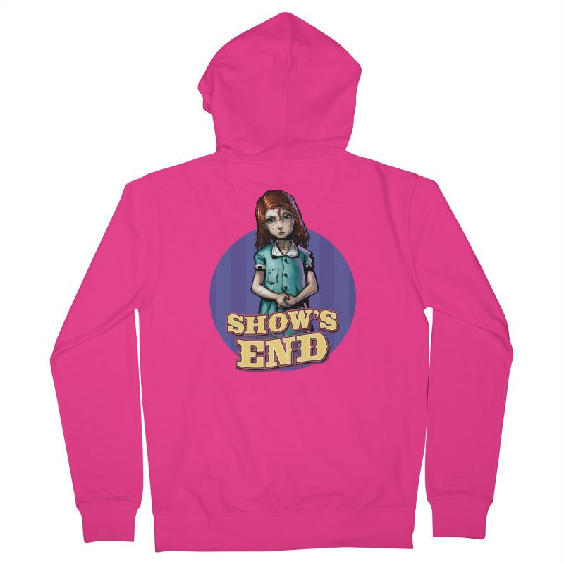 Show's End: Loralye Men's French Terry Zip-Up Hoody by Mad Cave Studios's Artist Shop