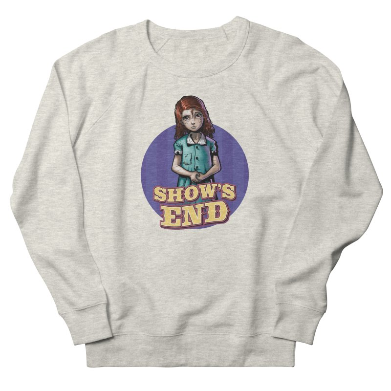 Show's End: Loralye Women's French Terry Sweatshirt by Mad Cave Studios's Artist Shop