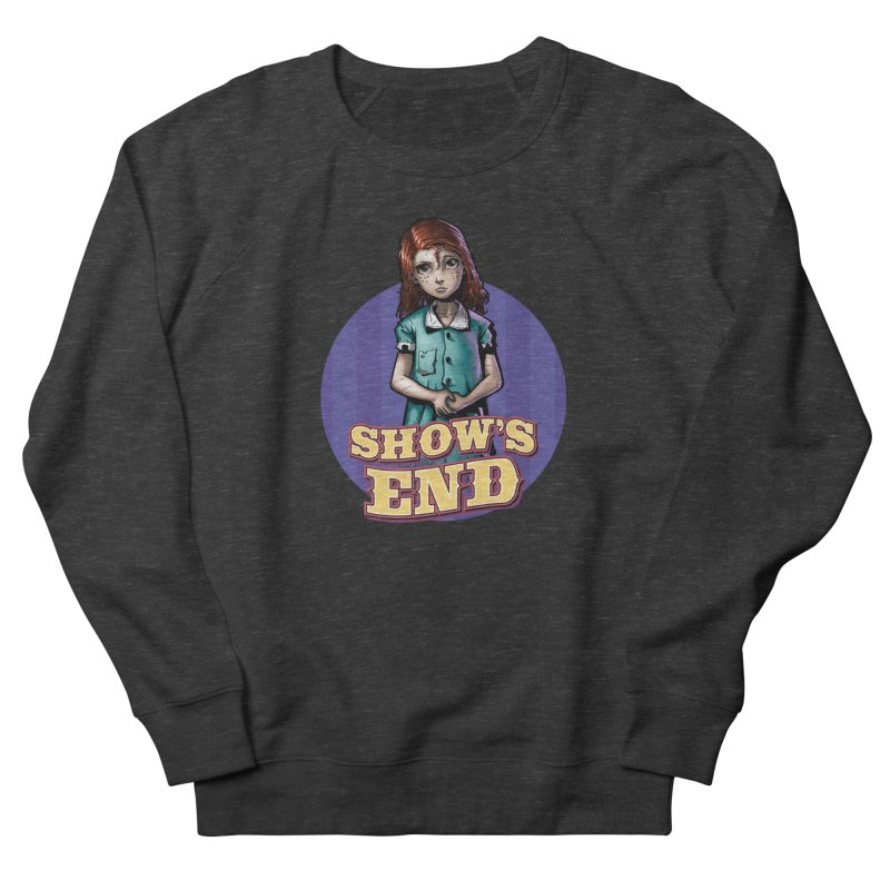 Show's End: Loralye Men's French Terry Sweatshirt by Mad Cave Studios's Artist Shop