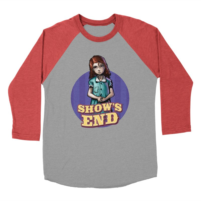 Show's End: Loralye Women's Baseball Triblend Longsleeve T-Shirt by Mad Cave Studios's Artist Shop