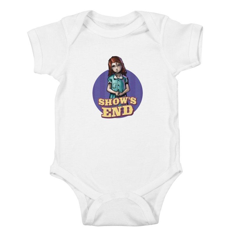 Show's End: Loralye Kids Baby Bodysuit by Mad Cave Studios's Artist Shop