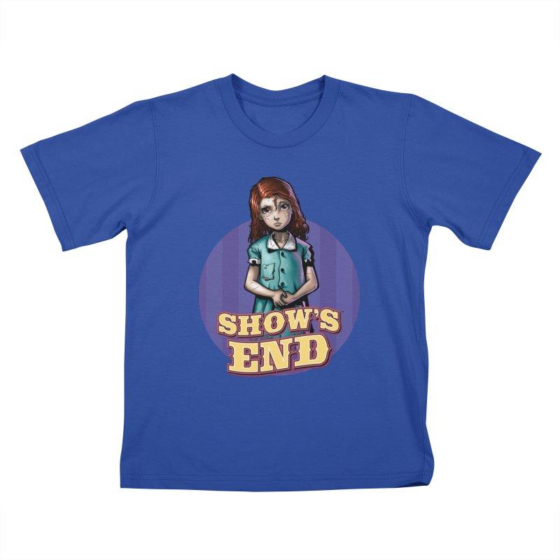 Show's End: Loralye Kids T-Shirt by Mad Cave Studios's Artist Shop