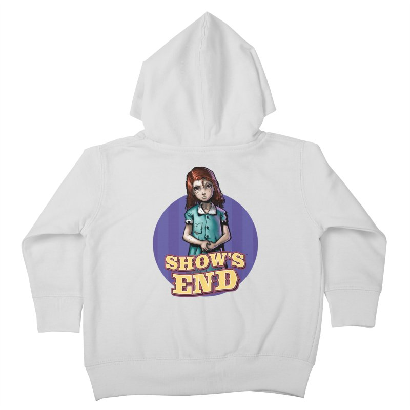 Show's End: Loralye Kids Toddler Zip-Up Hoody by Mad Cave Studios's Artist Shop