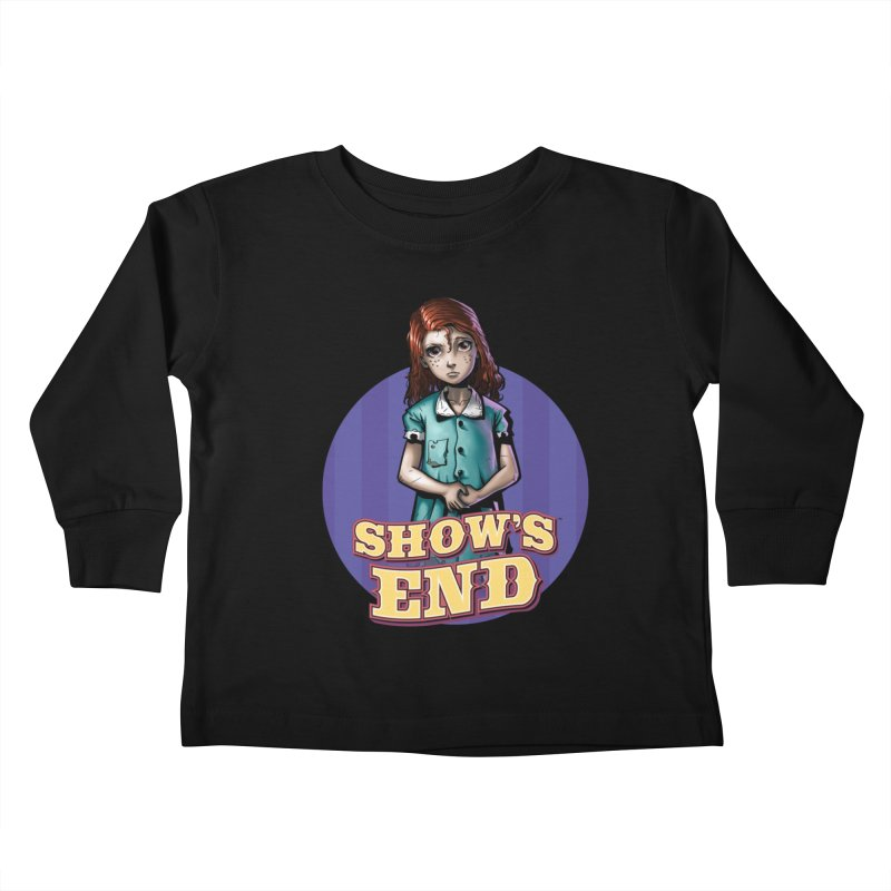 Show's End: Loralye Kids Toddler Longsleeve T-Shirt by Mad Cave Studios's Artist Shop
