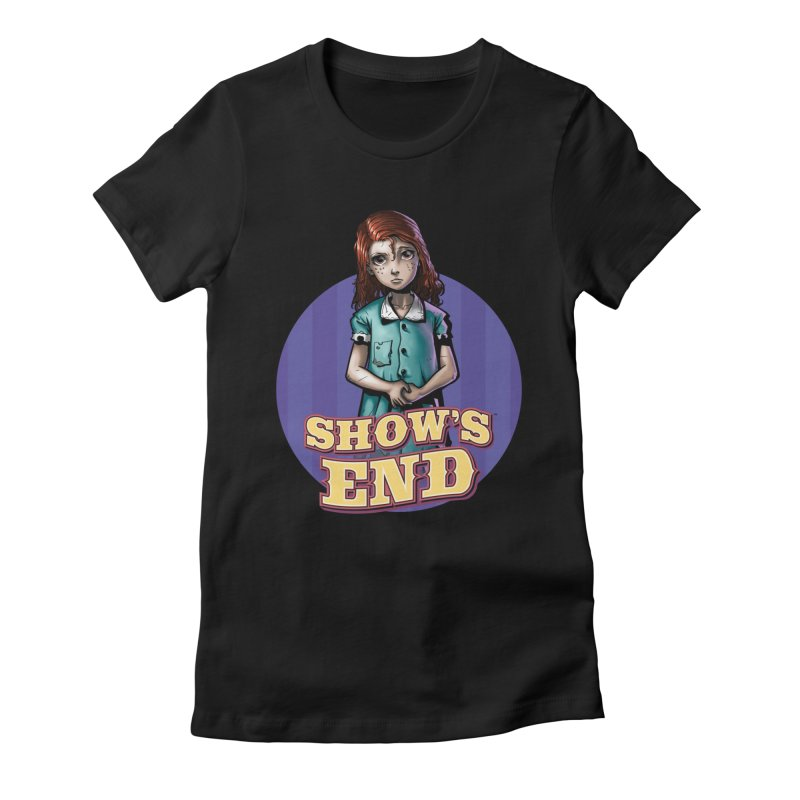 Show's End: Loralye Women's Fitted T-Shirt by Mad Cave Studios's Artist Shop