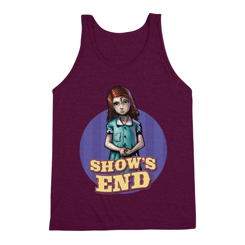 Show's End: Loralye Men's Triblend Tank by Mad Cave Studios's Artist Shop