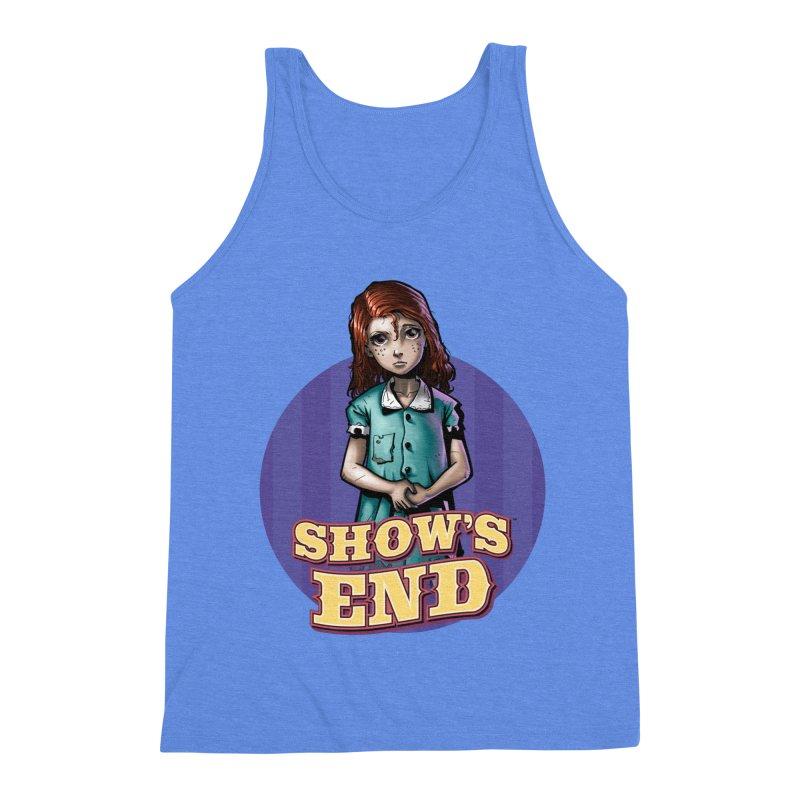 Show's End: Loralye Men's Triblend Tank by Mad Cave Studios's Artist Shop