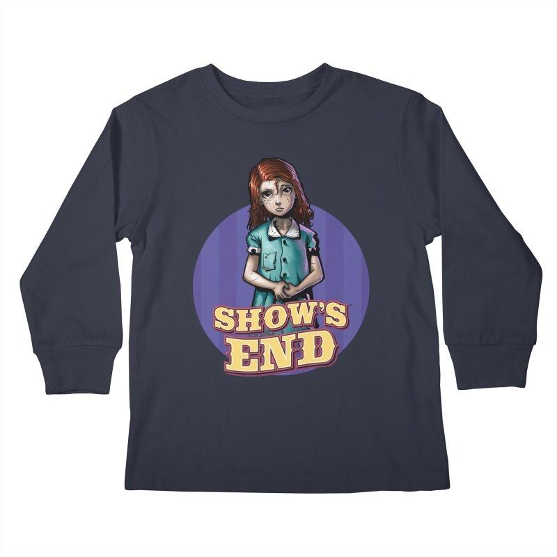Show's End: Loralye Kids Longsleeve T-Shirt by Mad Cave Studios's Artist Shop