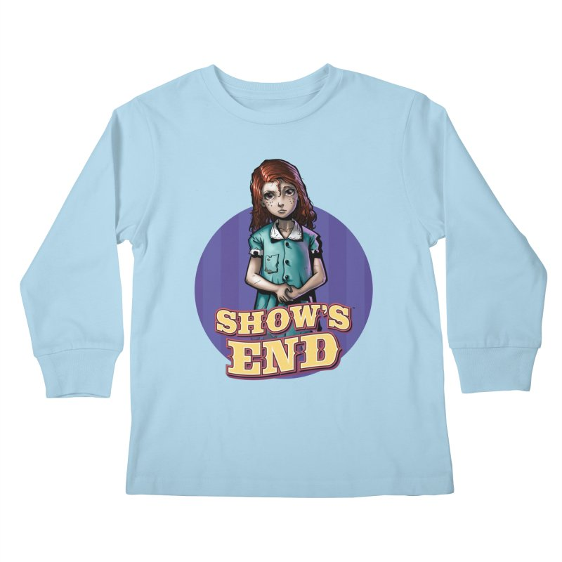 Show's End: Loralye Kids Longsleeve T-Shirt by Mad Cave Studios's Artist Shop