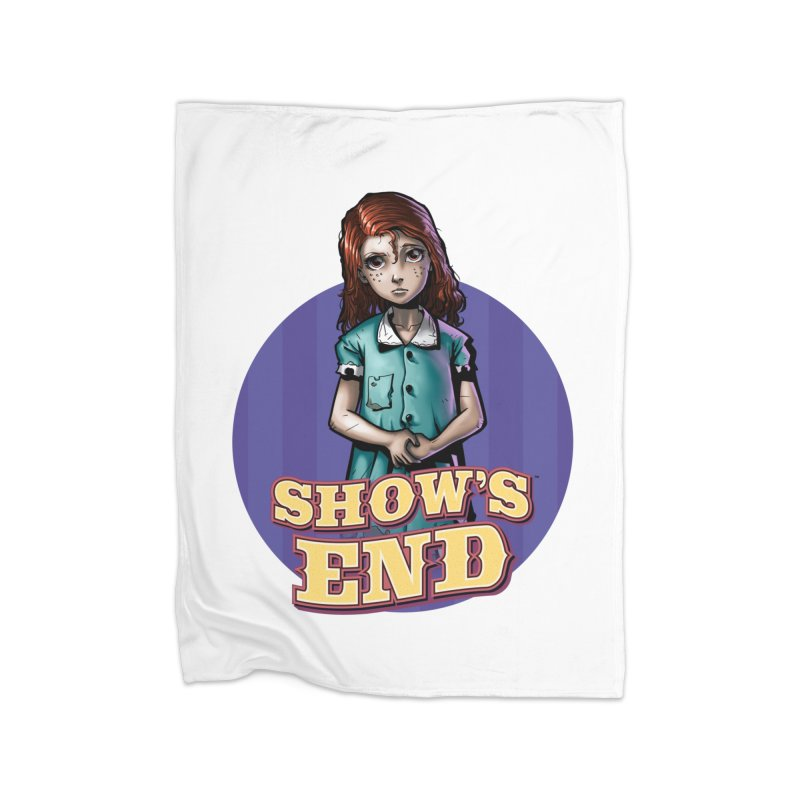 Show's End: Loralye Home Fleece Blanket Blanket by Mad Cave Studios's Artist Shop