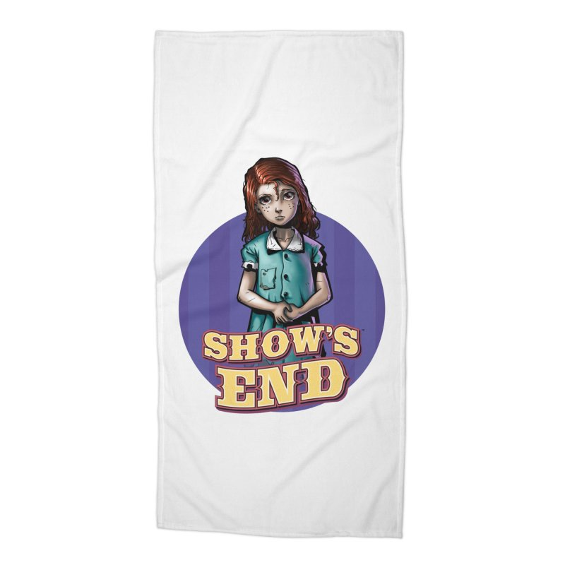 Show's End: Loralye Accessories Beach Towel by Mad Cave Studios's Artist Shop