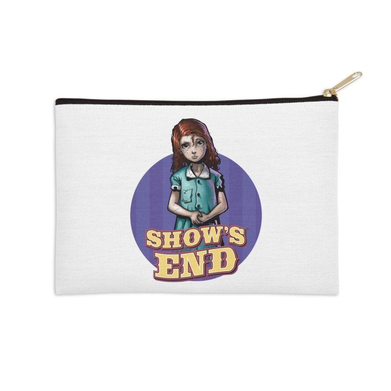 Show's End: Loralye Accessories Zip Pouch by Mad Cave Studios's Artist Shop