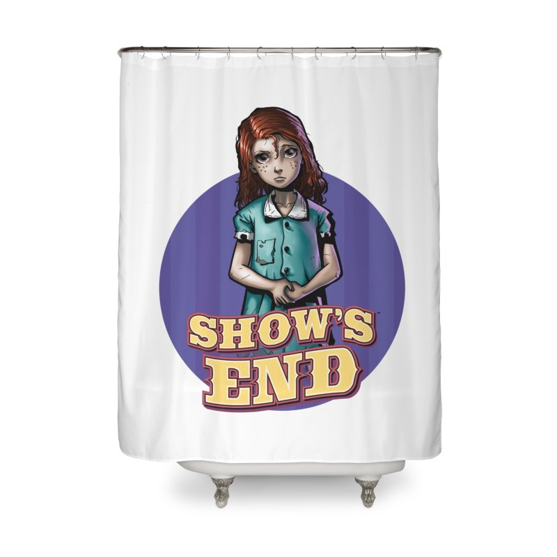 Show's End: Loralye Home Shower Curtain by Mad Cave Studios's Artist Shop
