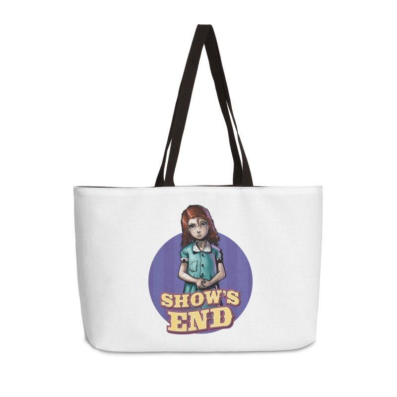 Show's End: Loralye Accessories Weekender Bag Bag by Mad Cave Studios's Artist Shop