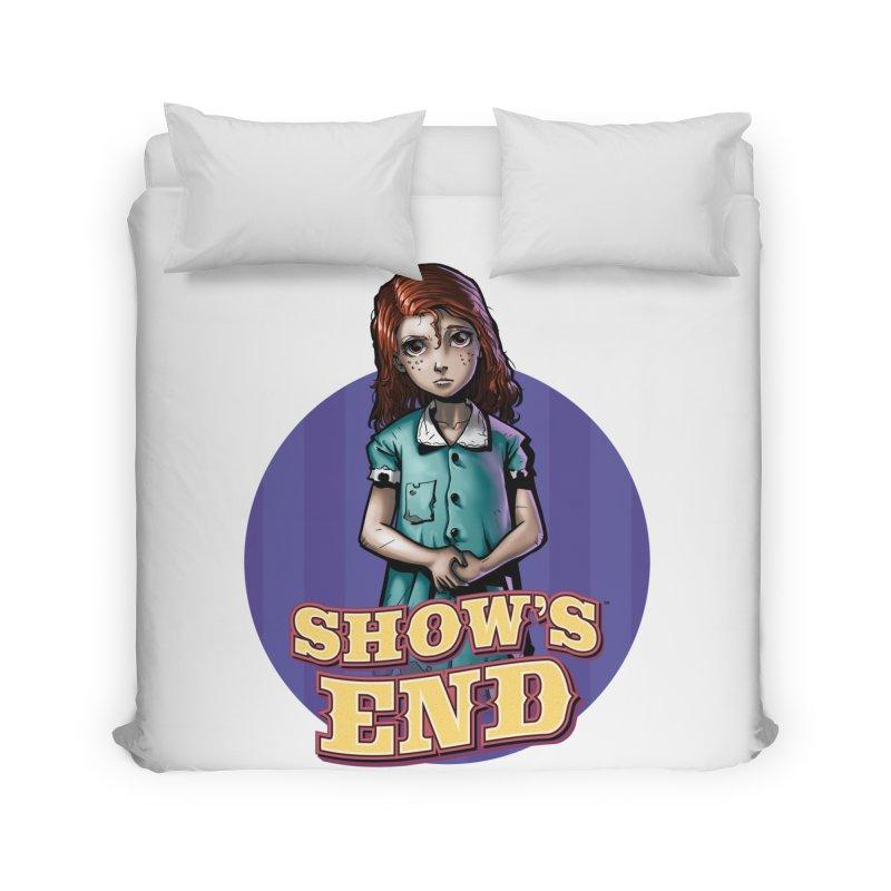 Show's End: Loralye Home Duvet by Mad Cave Studios's Artist Shop