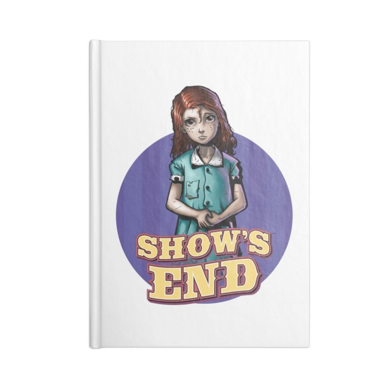 Show's End: Loralye Accessories Lined Journal Notebook by Mad Cave Studios's Artist Shop