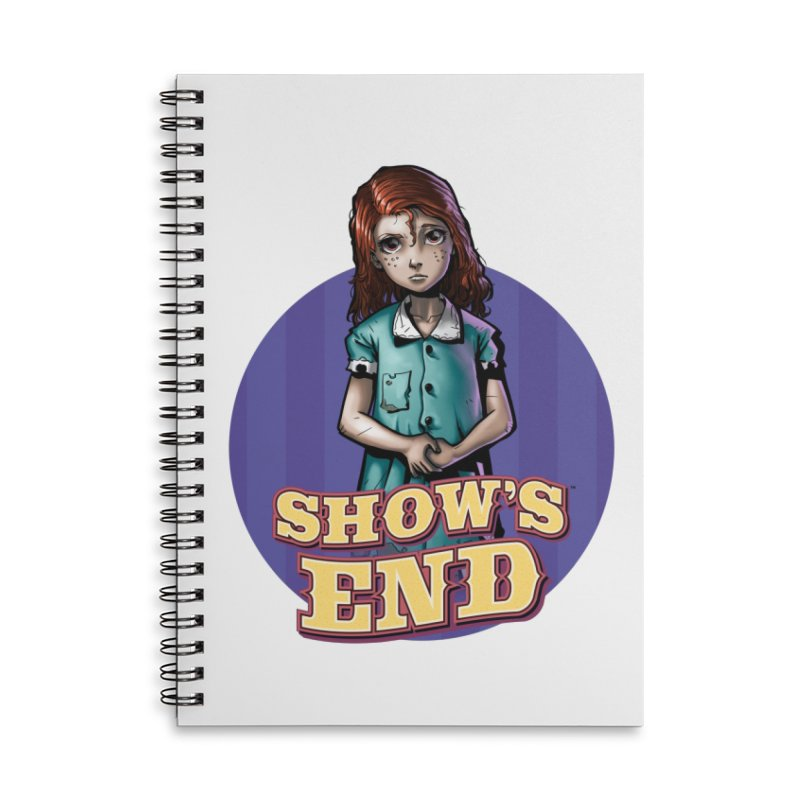 Show's End: Loralye Accessories Lined Spiral Notebook by Mad Cave Studios's Artist Shop