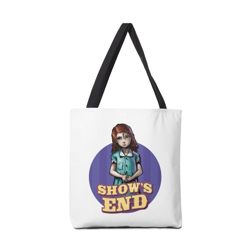 Show's End: Loralye Accessories Tote Bag Bag by Mad Cave Studios's Artist Shop