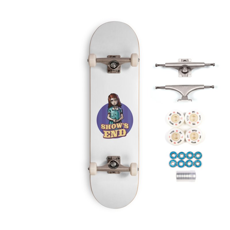 Show's End: Loralye Accessories Complete - Premium Skateboard by Mad Cave Studios's Artist Shop