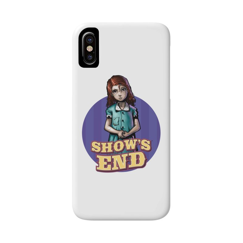 Show's End: Loralye Accessories Phone Case by Mad Cave Studios's Artist Shop