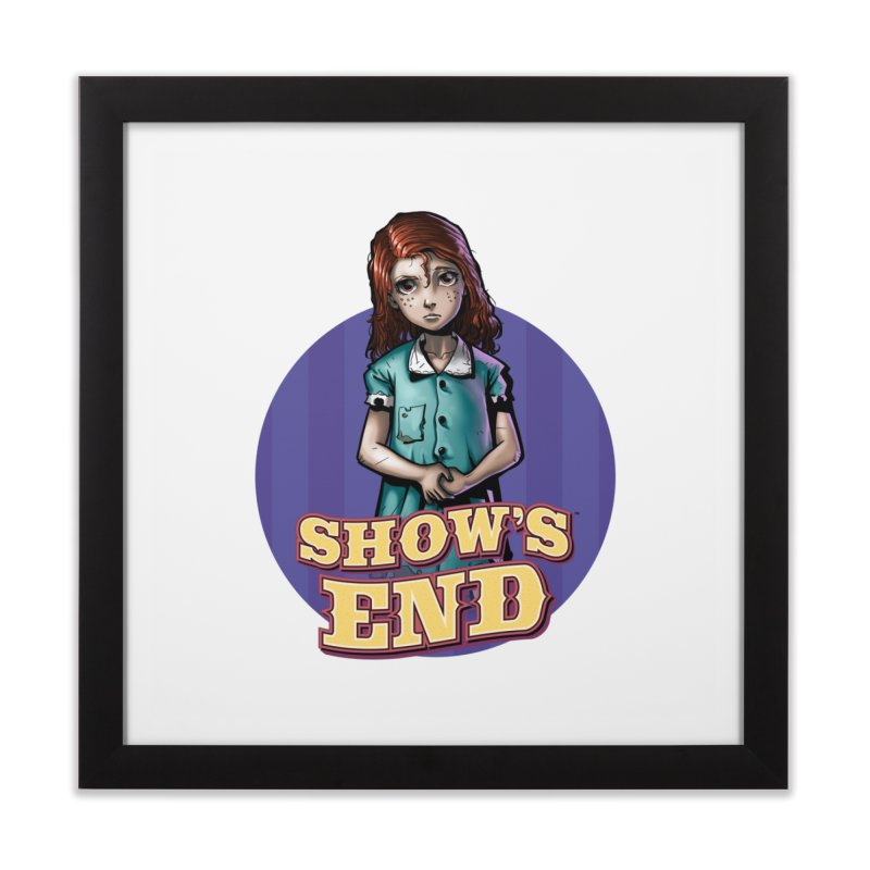 Show's End: Loralye Home Framed Fine Art Print by Mad Cave Studios's Artist Shop
