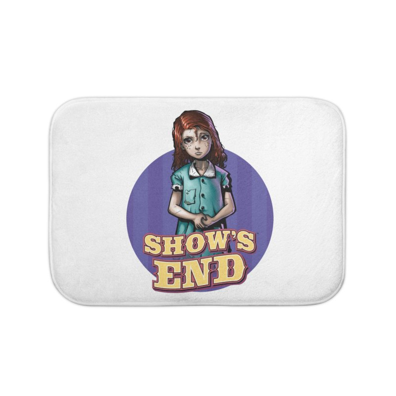 Show's End: Loralye Home Bath Mat by Mad Cave Studios's Artist Shop