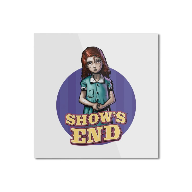 Show's End: Loralye Home Mounted Aluminum Print by Mad Cave Studios's Artist Shop