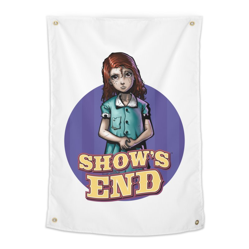 Show's End: Loralye Home Tapestry by Mad Cave Studios's Artist Shop