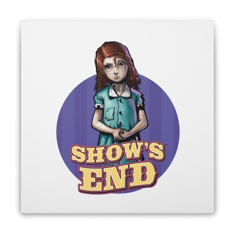 Show's End: Loralye Home Stretched Canvas by Mad Cave Studios's Artist Shop