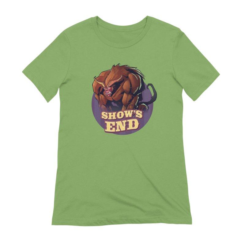 Show's End: Daemon Women's Extra Soft T-Shirt by Mad Cave Studios's Artist Shop