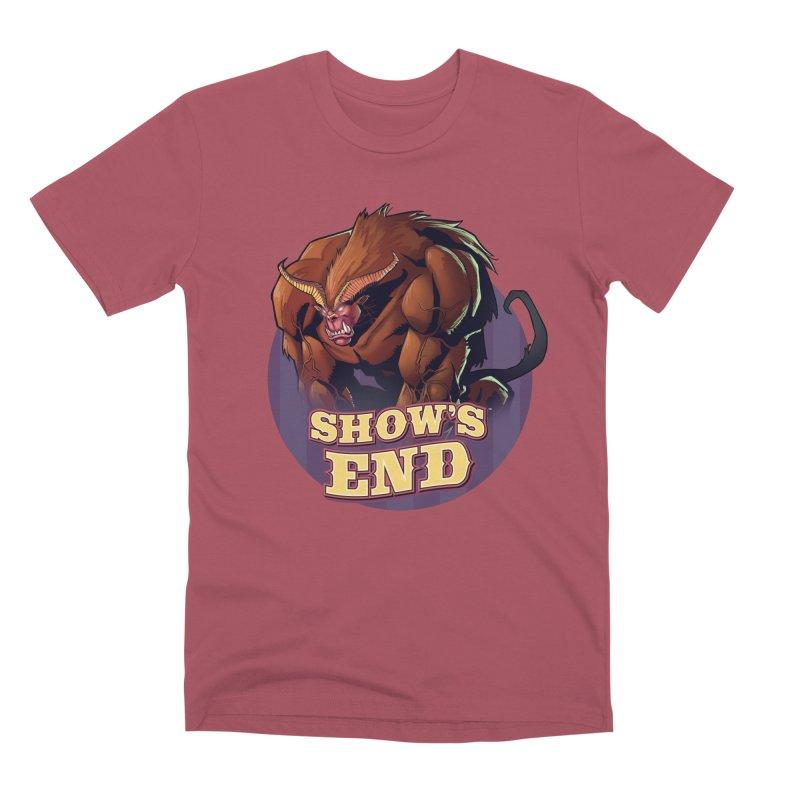 Show's End: Daemon Men's Premium T-Shirt by Mad Cave Studios's Artist Shop