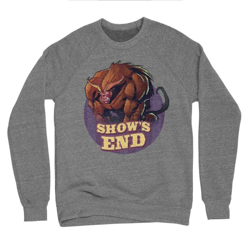 Show's End: Daemon Men's Sponge Fleece Sweatshirt by Mad Cave Studios's Artist Shop