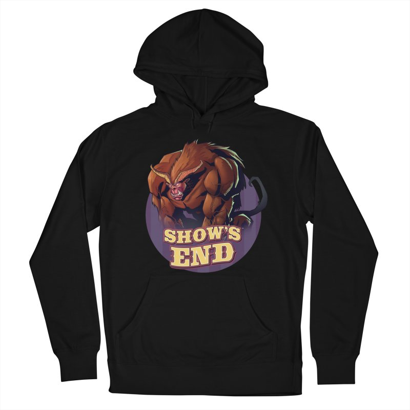 Show's End: Daemon Women's French Terry Pullover Hoody by Mad Cave Studios's Artist Shop