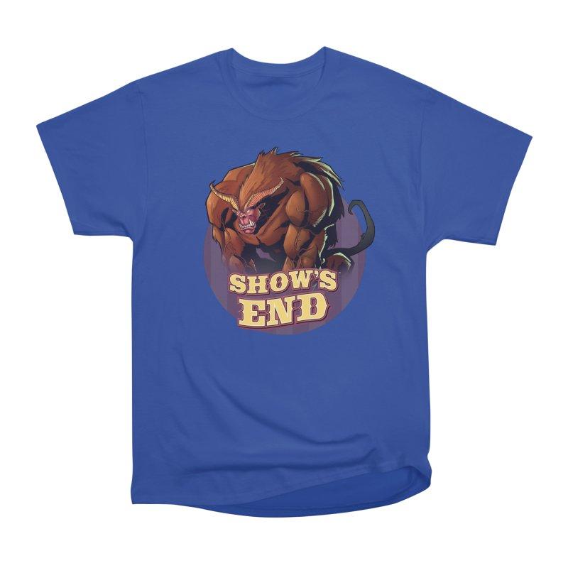 Show's End: Daemon Women's Heavyweight Unisex T-Shirt by Mad Cave Studios's Artist Shop