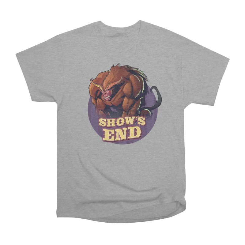 Show's End: Daemon Men's Heavyweight T-Shirt by Mad Cave Studios's Artist Shop