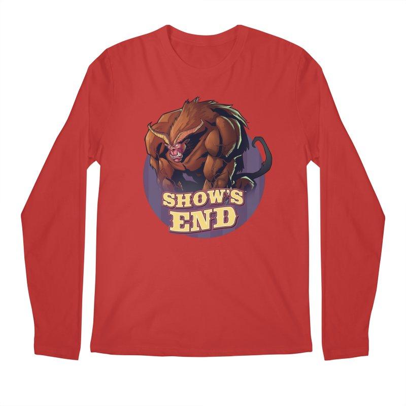 Show's End: Daemon Men's Regular Longsleeve T-Shirt by Mad Cave Studios's Artist Shop