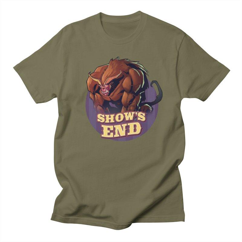 Show's End: Daemon Men's Regular T-Shirt by Mad Cave Studios's Artist Shop
