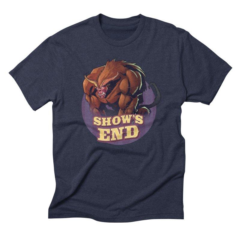 Show's End: Daemon Men's Triblend T-Shirt by Mad Cave Studios's Artist Shop