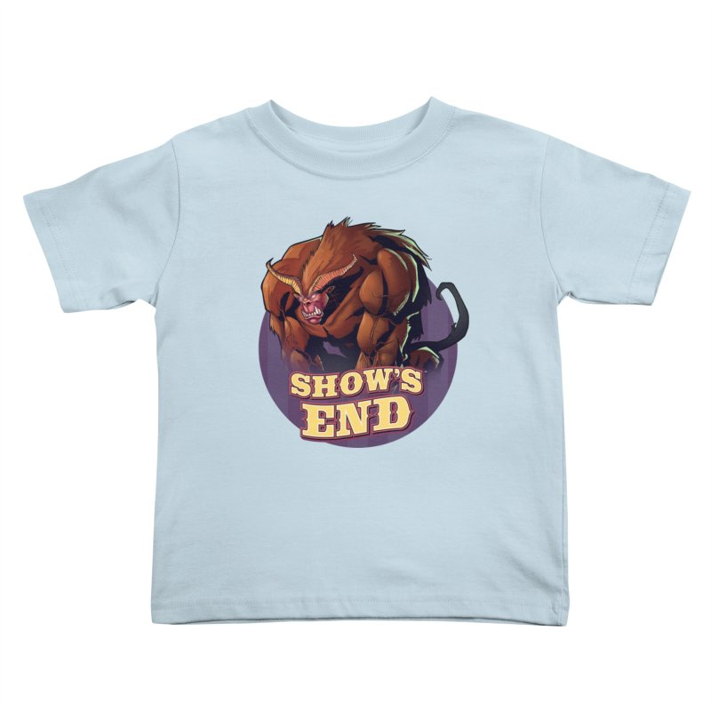 Show's End: Daemon Kids Toddler T-Shirt by Mad Cave Studios's Artist Shop