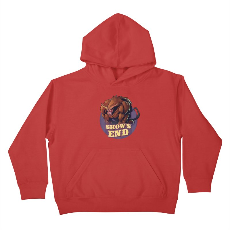 Show's End: Daemon Kids Pullover Hoody by Mad Cave Studios's Artist Shop