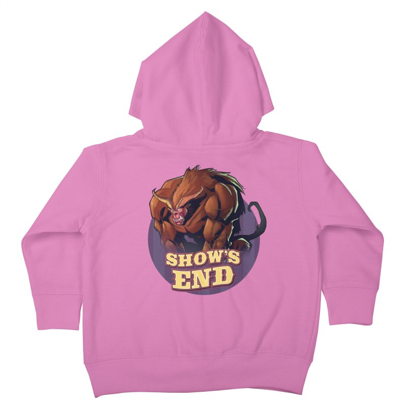 Show's End: Daemon Kids Toddler Zip-Up Hoody by Mad Cave Studios's Artist Shop