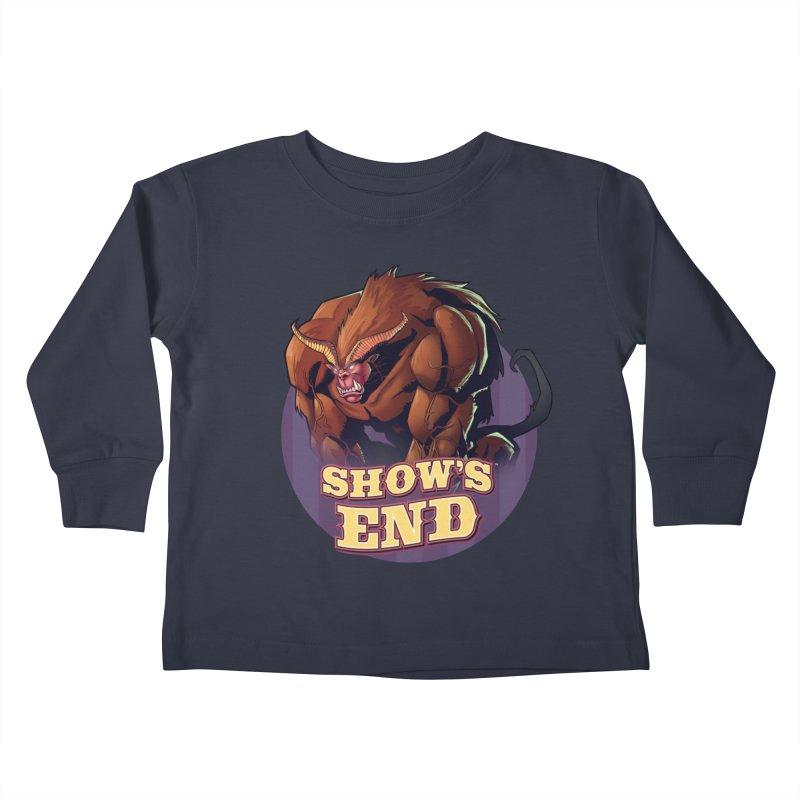 Show's End: Daemon Kids Toddler Longsleeve T-Shirt by Mad Cave Studios's Artist Shop
